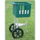 Adjustable Field Ball Cart with Large Volume Ball Hopper