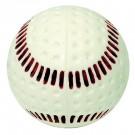 """Baden White 9"""" Seamed Machine Baseballs (1 Dozen)"""