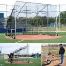 Portable Baseball Batting Cage (18' W x 12' D x 14' H)