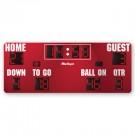 MacGregor® 8' x 20' Football Scoreboard