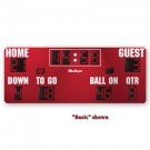 MacGregor® 8' x 20' Football Scoreboard with Time Outs Left