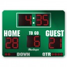 MacGregor® 6' x 8' Football Scoreboard