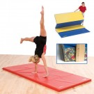 "4' x 8' x 2"" Bonded Foam Mat with Fasteners"
