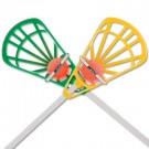 STX Lacrosse Training Set - Yellow/Green