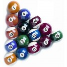 Belgian Phenolic Billiard Ball Set (Set of 16)