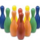 Multi-Color Foam Bowling Pin Set
