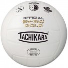 Tachikara NFHS Official Indoor SV5W Gold Premium Leather Competition Volleyball