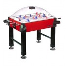 Signature Stick Hockey Game Table with Legs from Carrom Sports (Red)