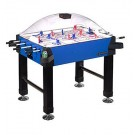 Signature Stick Hockey Game Table with Legs from Carrom Sports (Blue)
