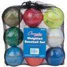 Weighted Training Baseball Set - Set of 9