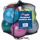 Weighted Training Softball Set - Set of 8