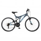 "Polaris Scrambler 26"" Dual Suspension Mountain Bike"