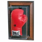 Wall Mountable Single Boxing Glove Display Case (Brown)