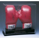 """Double """"Vertical"""" Boxing Glove Display Case"""