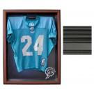 Medium Cabinet Style Jersey Display Case (Black)