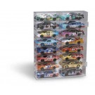 16 Car Mirrored Back Display Case for 1/24 Scale Cars from Clearwater Displays