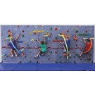Traverse Wall Challenge Course for Traverse Climbing Wall from Everlast Climbing