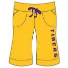 Louisiana State (LSU) Tigers Ladies' Bermuda Shorts (X-Large)