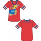 Kansas Jayhawks Ladies' Color Jersey Tunic / Shirt (X-Large)