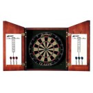 Accudart Union Jack Dartboard Cabinet and Complete Set