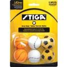 Stiga One-Star Sport Table Tennis Balls