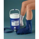 AirCast Ankle CryoCuff with Gravity Feed Cooler