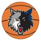 """Minnesota Timberwolves 27"""" Basketball Mat"""