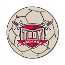 """27"""" Round Troy State Trojans Soccer Mat"""