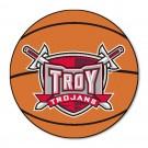 "27"" Round Troy State Trojans Basketball Mat"