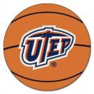 "Texas (El Paso) Miners ""UTEP"" 27"" Round Basketball Mat"