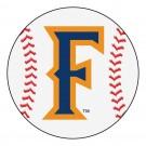 "27"" Round California State (Fullerton) Titans Baseball Mat"