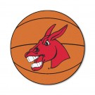 "27"" Round Central Missouri State Fighting Mules Basketball Mat"