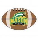 """George Mason Patriots 22"""" x 35"""" Football Mat"""