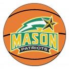 "George Mason Patriots 27"" Round Basketball Mat"