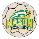 "George Mason Patriots 27"" Round Soccer Ball Mat"