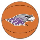 "Wisconsin (Whitewater) Warhawks 27"" Round Basketball Mat"