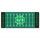 """North Dakota  Hawks 30"""" x 72"""" Football Field Runner"""