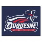 "34"" x 45"" Duquesne Dukes All Star Floor Mat"