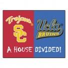 """USC Trojans / UCLA Bruins """"House Divided"""" 34"""" x 44.5"""" All Star Floor Mat"""