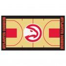 """Atlanta Hawks 30"""" x 54"""" Basketball Court Runner"""