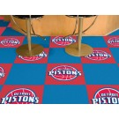 "Detroit Pistons 18"" x 18"" Carpet Tiles (Box of 20)"