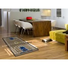 """Indiana Pacers 30"""" x 54"""" Basketball Court Runner"""