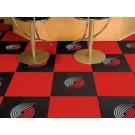 """Portland Trail Blazers 18"""" x 18"""" Carpet Tiles (Box of 20)"""