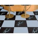 "San Antonio Spurs 18"" x 18"" Carpet Tiles (Box of 20)"