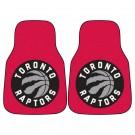 """Toronto Raptors 18"""" x 27"""" Auto Floor Mat (Set of 2 Car Mats)"""