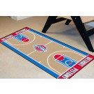 "Detroit Pistons 24"" x 44"" Basketball Court Runner"