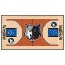 """Minnesota Timberwolves 24"""" x 44"""" Basketball Court Runner"""