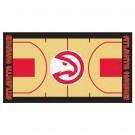 """Atlanta Hawks 24"""" x 44"""" Basketball Court Runner"""