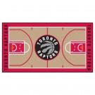 "Toronto Raptors 24"" x 44"" Basketball Court Runner"