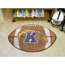 """22"""" x 35"""" Kent State Golden Flashes Football Mat"""
